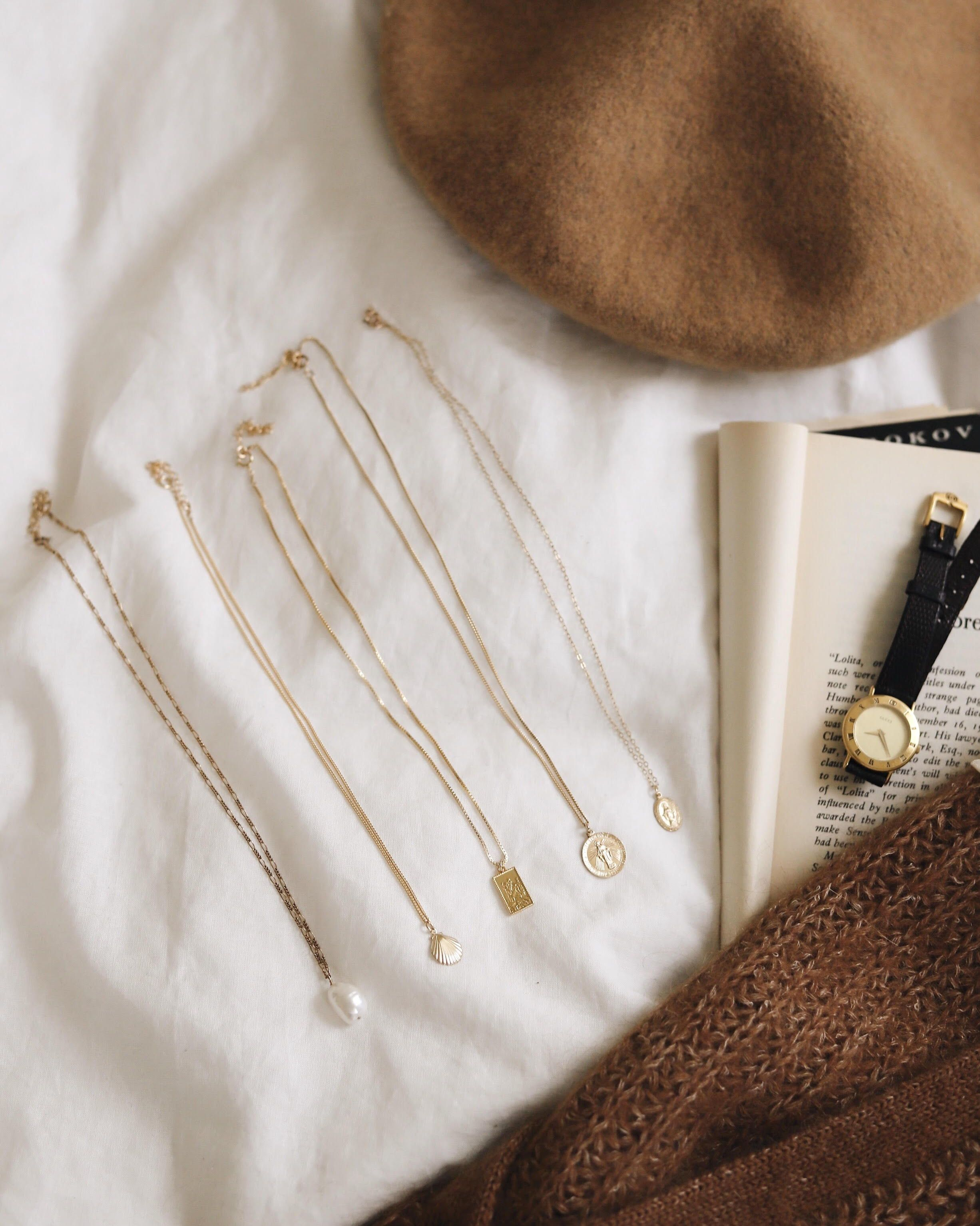 Photo of Simply dainty Delicate, minimal jewelry for everyday wear