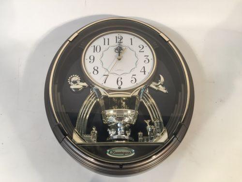 Rhythm Small World Magic Musical Motion Circus Wall Clock Hummingroad Clock Wall Clock Small World