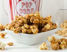 Erdnuss-Karamell-Popcorn