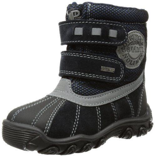 Primigi RANGE - Zapatos de primeros pasos de cuero bebé, color azul, talla 20