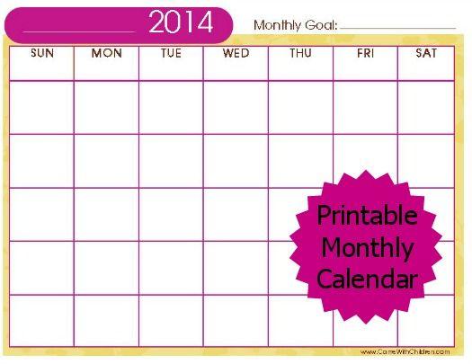 Printable Monthly Muslim Calendar 2014 Ramadan 20 Http