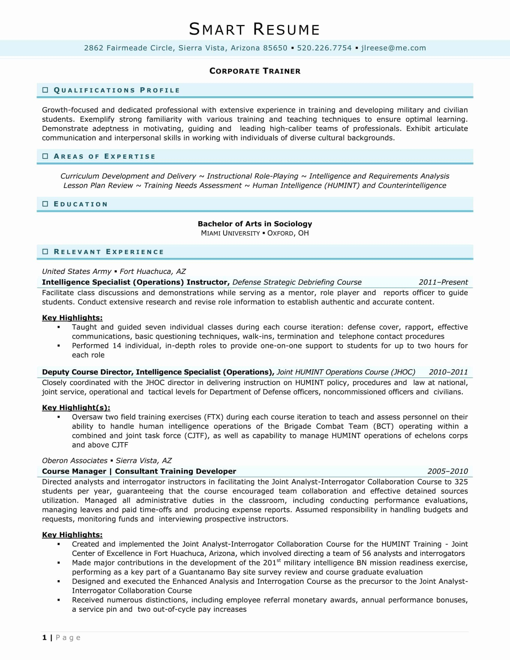 In House Counsel Resume Beautiful Samples How Smart Resume