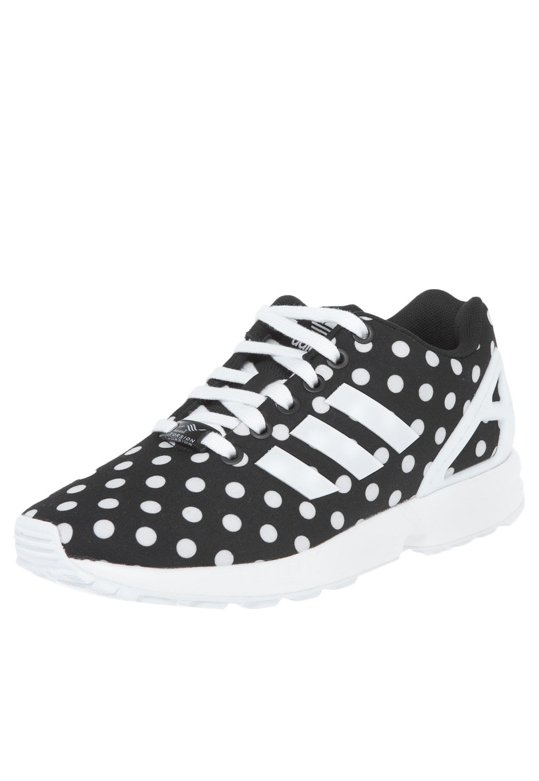 2ab62de5120 Tênis adidas Originals Zx Flux W Preto - Marca Adidas Originals ...