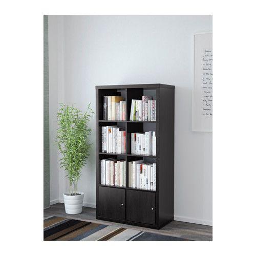 casashops biblioth que noire ikea et brun. Black Bedroom Furniture Sets. Home Design Ideas