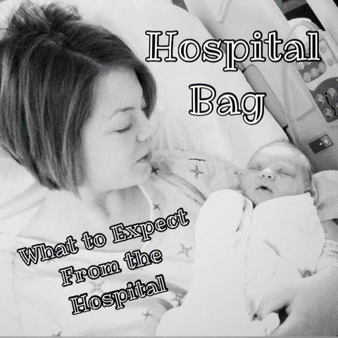 Hospital Bag. Emergency c-section