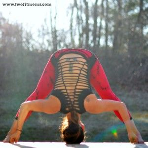 prasarita padottanasana or widelegged forward fold  yoga