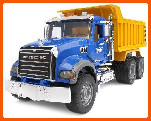 Bruder Mack Granite Dump Truck Toys For Little Kids Amazon Partner Link Mack Dump Truck Dump Truck Trucks