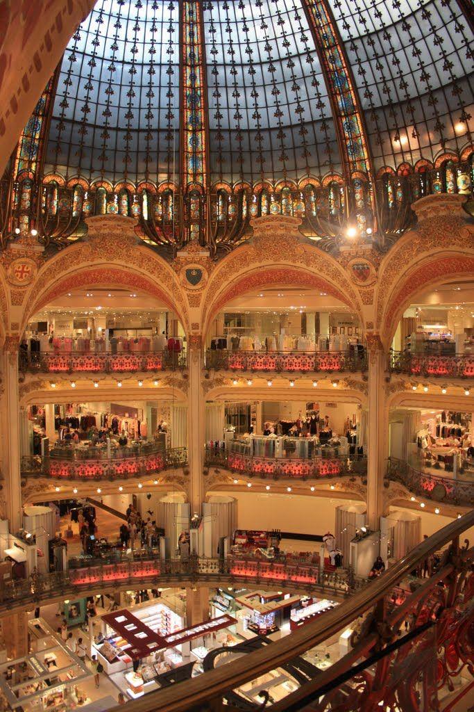 Paris France Lafayette Paris Paris Galeries Lafayette