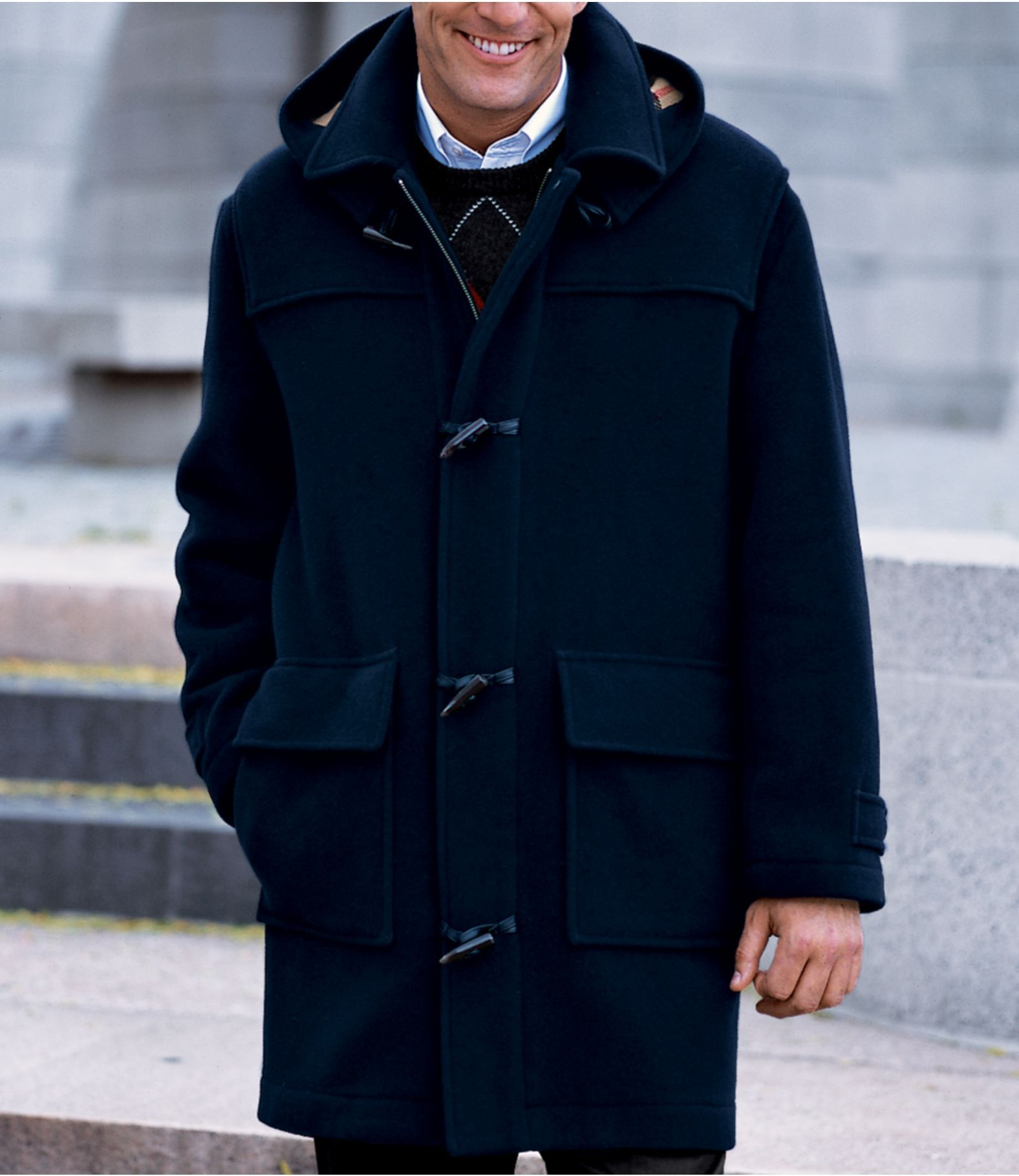 Overcoats | Classic Men's Style. | Pinterest | Mens duffle coat