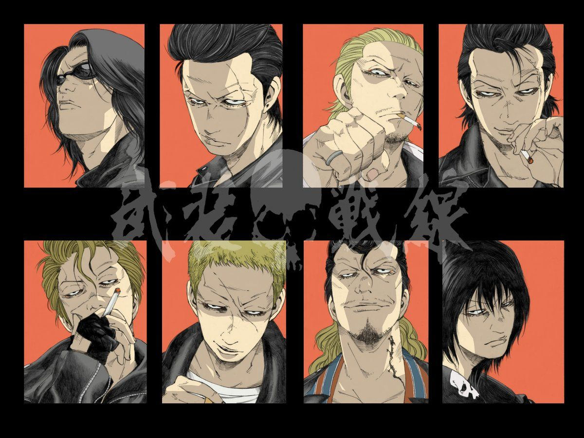 みっつばー (mitz_vah) in 2020 Anime, Crows zero, Crow
