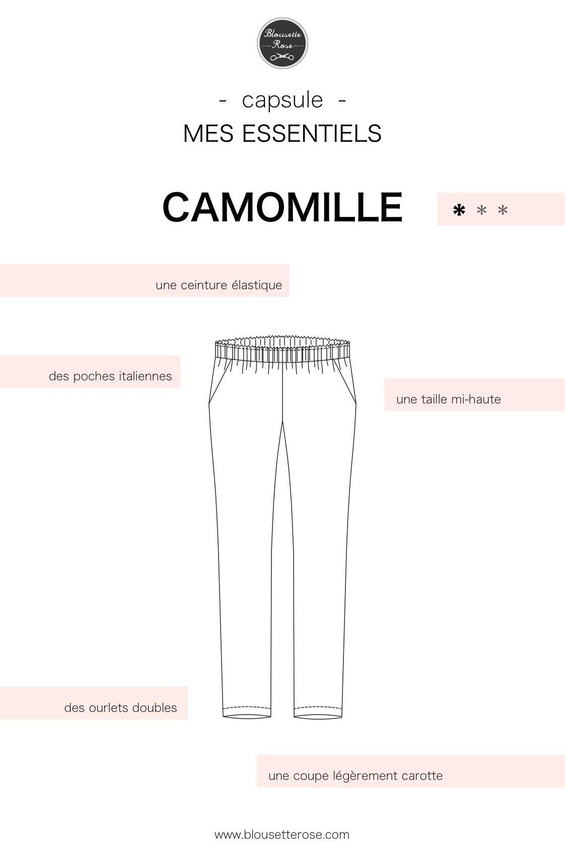 nouveau patron - Camomille : le pantalon slow-life - Blousette Rose ...