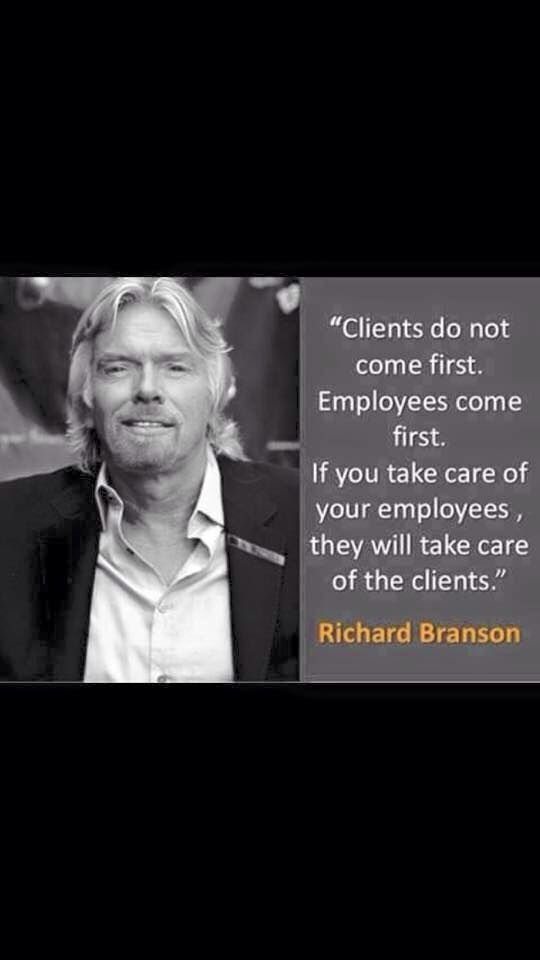 Richard Branson Quote Richard Branson Quotes Employee Quotes Richard Branson