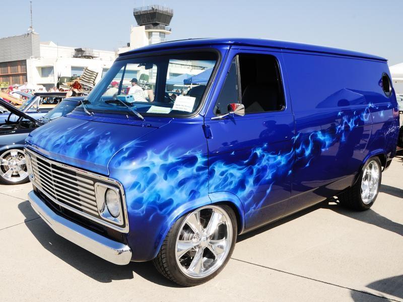 Overhaulin Chevy Van Chevrolet Van Classic Trucks