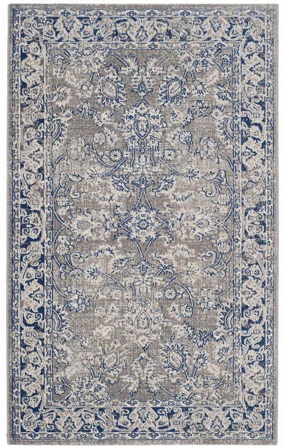 Safavieh Artisan Gray And Blue 3 X 5 Area Rug Diy Carpet