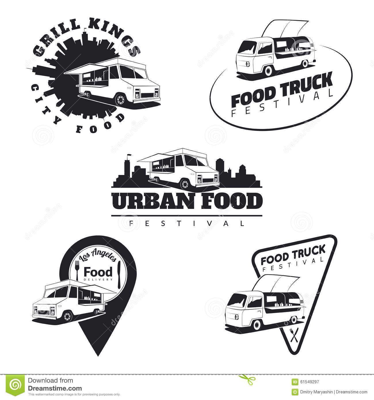 food emblems Google 검색 Food truck, Food truck festival