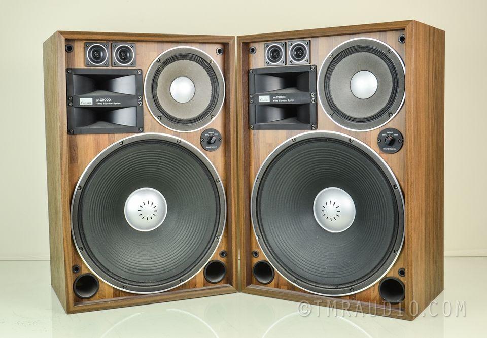 vintage sansui speakers pardon me while i salivate. Black Bedroom Furniture Sets. Home Design Ideas