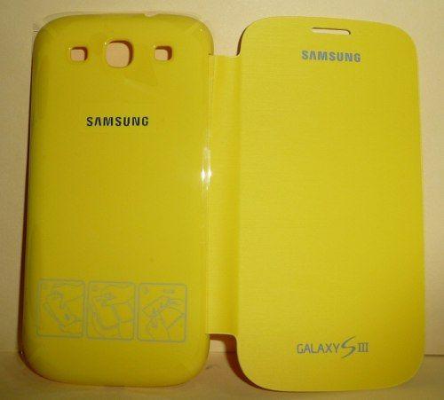 6b2357909b1 Funda Flip Cover Samsung Galaxy S3 I9300 Efc-1g6fyec Idd - $ 249.00 ...
