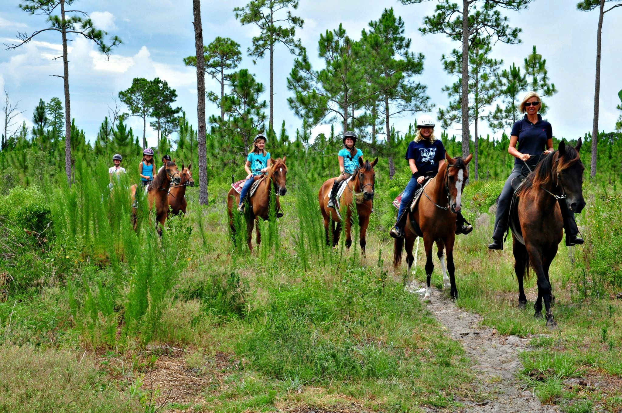 Gulfside Trail Rides And Les Offers Guided In The Santa Rosa Beach Area