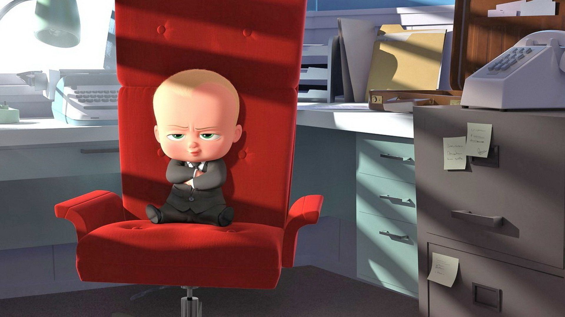 """The Boss Baby tell story about """"A story about how a new"""
