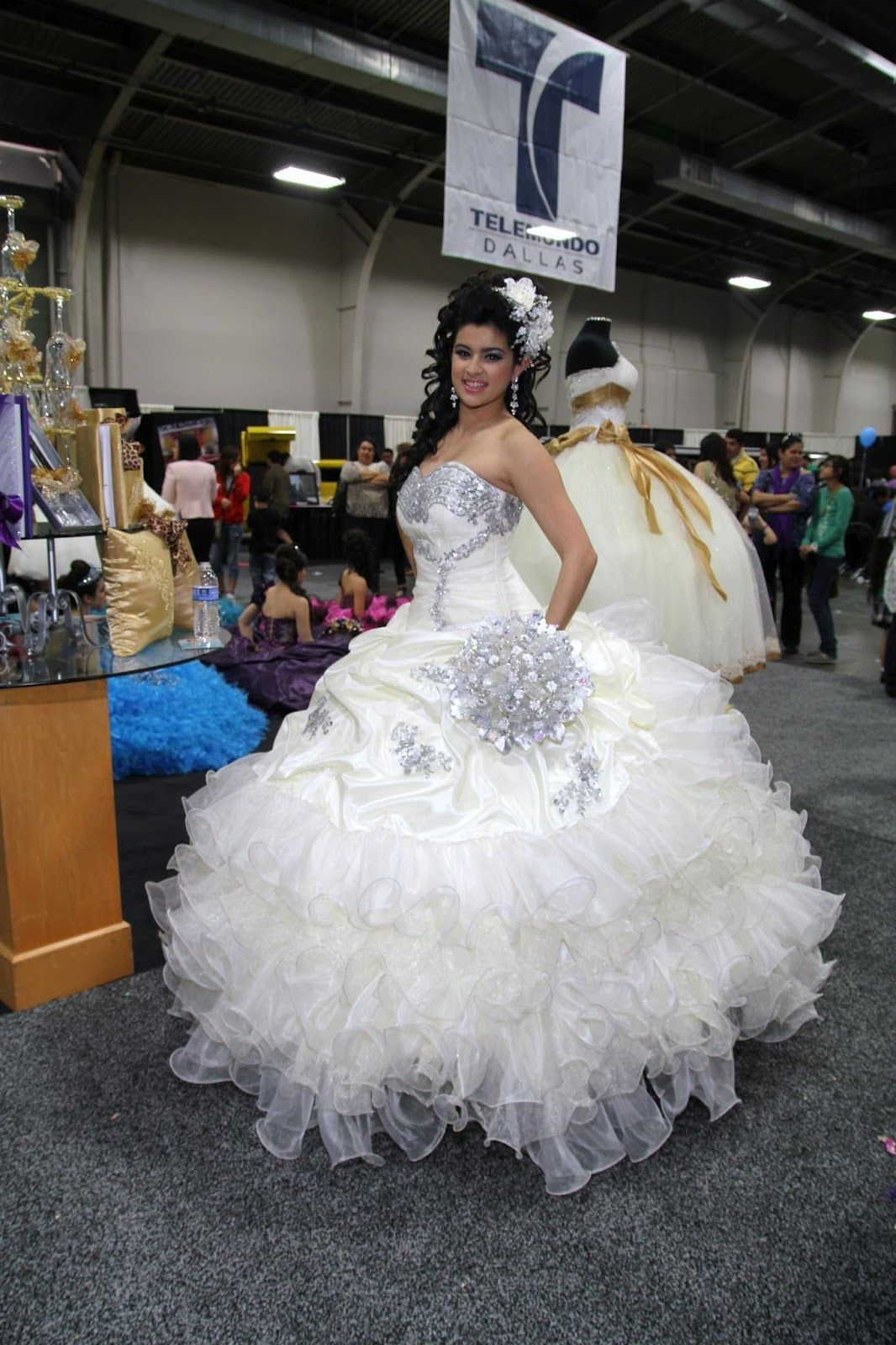 glitter wedding dress la glitter quinceanera