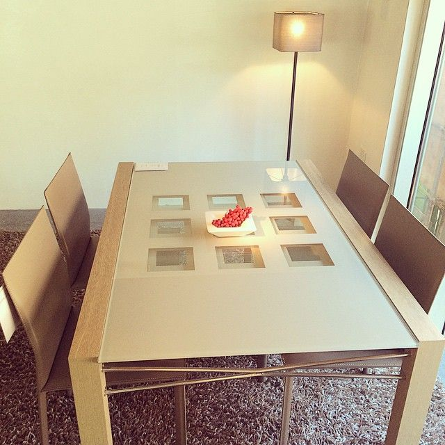 Extensia dinning table and Cordou chairs by Ligne Roset! Live ...