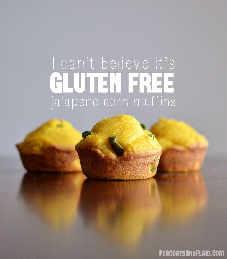 Cornbread Jalapeno Muffins (#glutenfree)