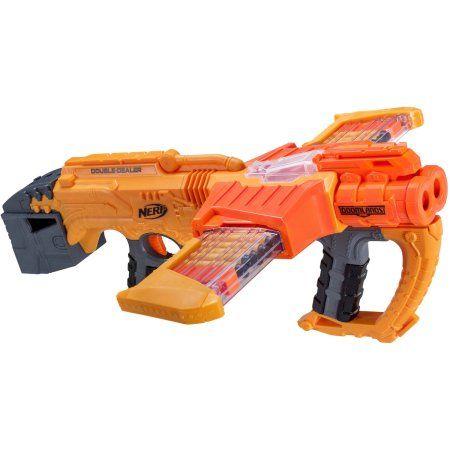 Nerf Doomlands Double Dealer Blaster - Walmart.com