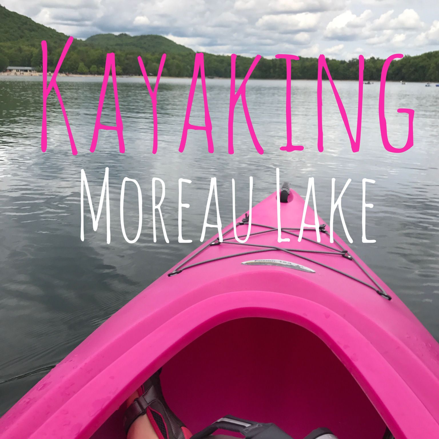 Well my Christmas wish came true! I received a bright pink Kayak! Do of course when Memorial Day Weekend rolled around I was ecstatic to take her out for her maiden voyage.  It was hard to wai…