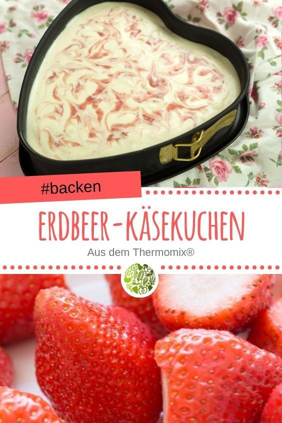 Photo of Strawberry cheesecake without baking from the Thermomix