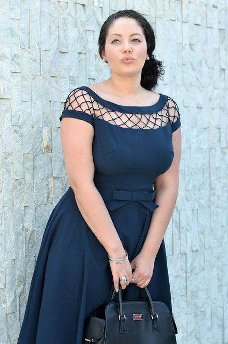 pretty evening dresses for plus size women   Girls with Curves ...