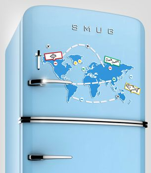 Page Not Found World Map Map Fridge Magnets