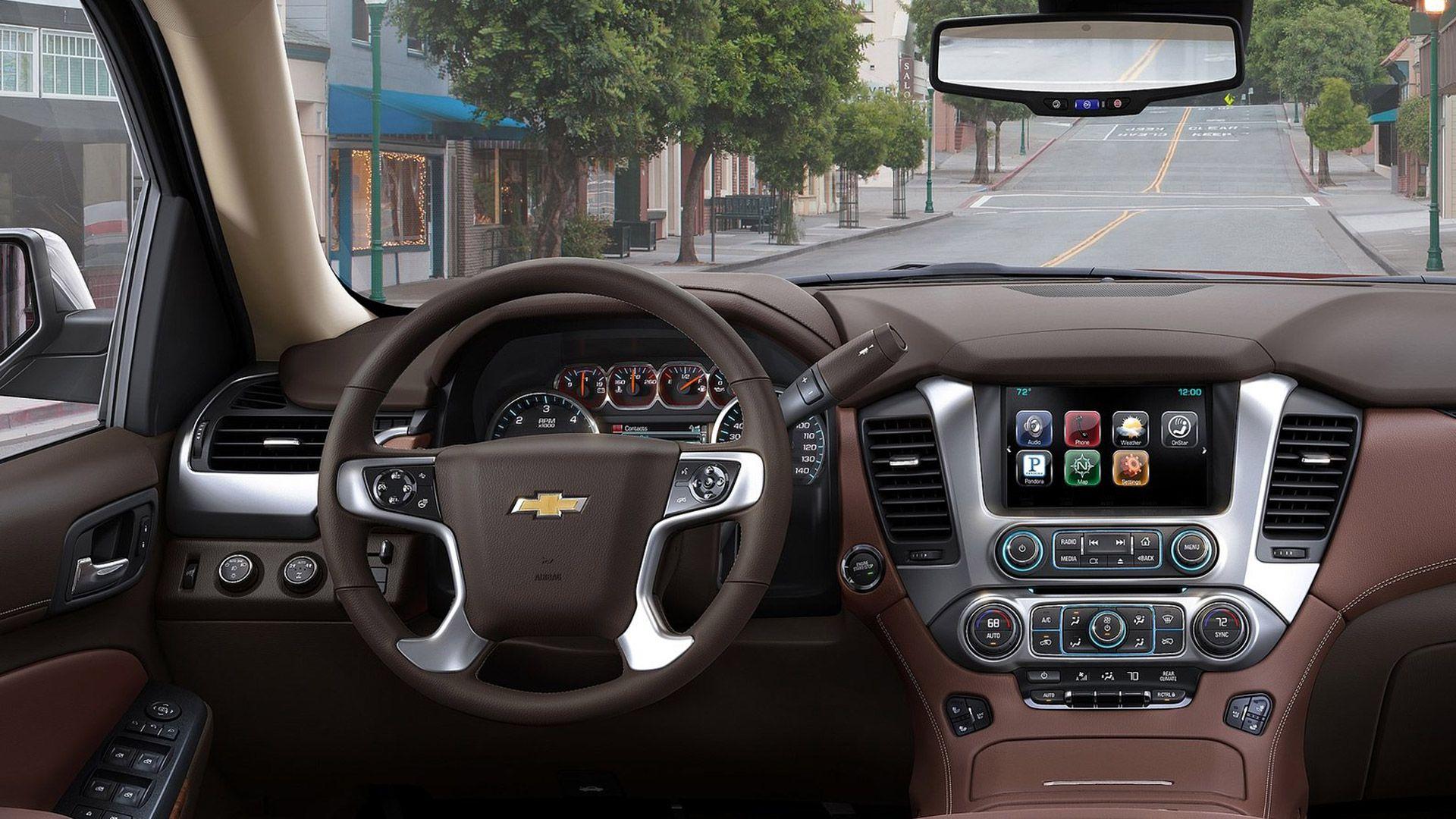 2015 Chevrolet Tahoe Dashboard 2015 Chevrolet Tahoe Features