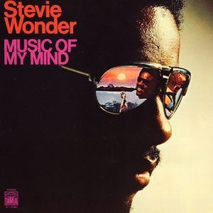 Stevie Wonder - Music Of My Mind LP Record Album On Vinyl