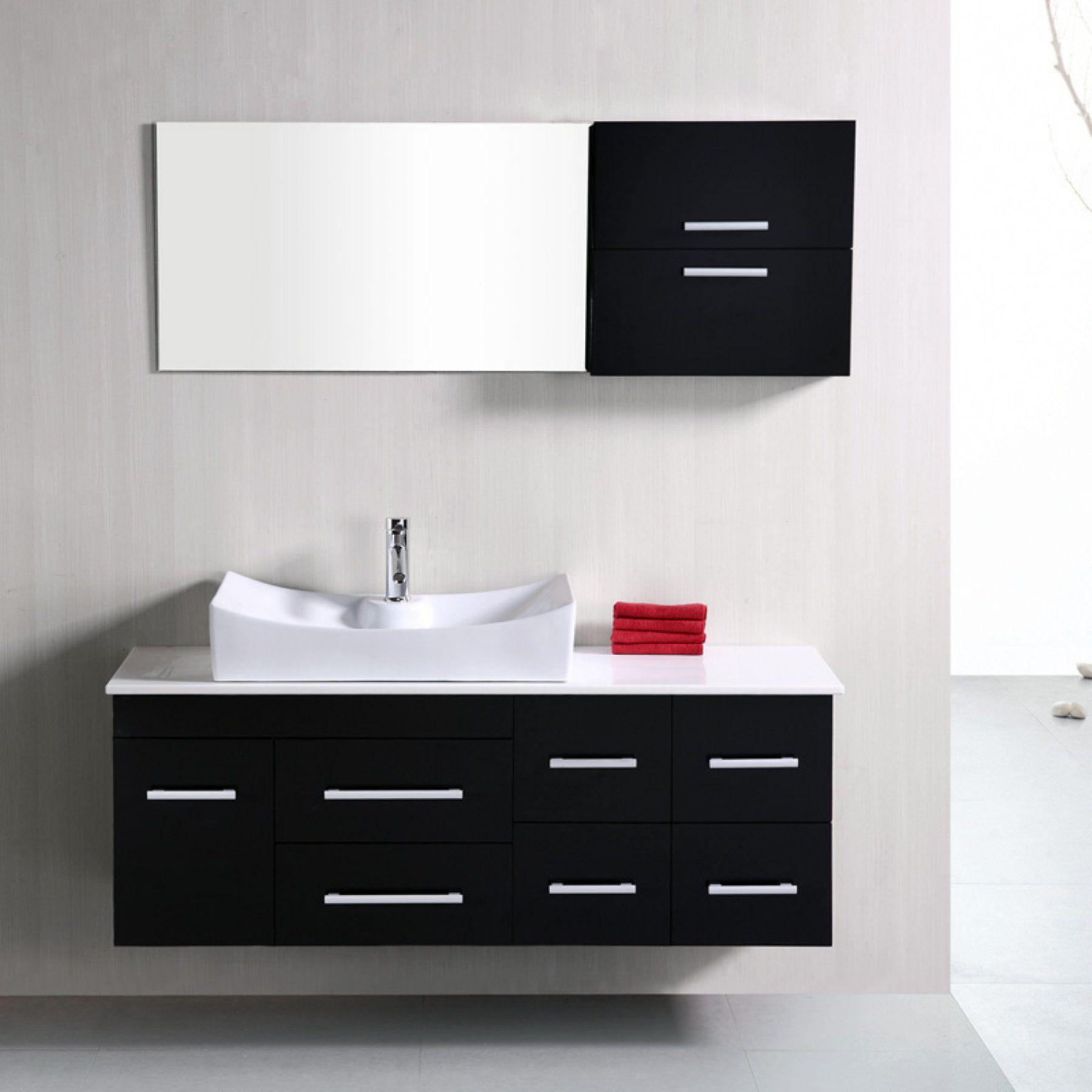 Design Element Dec1101 Springfield 53 In Single Bathroom Vanity