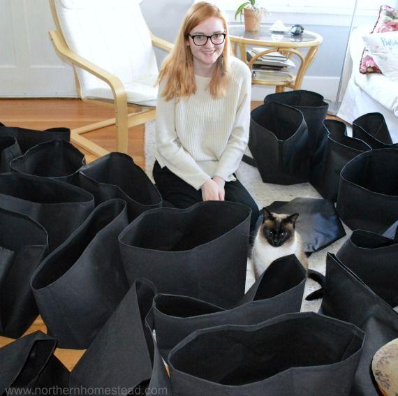 How To Sew A Grow Bag Garden Bags Grow Bags Diy Grow Bags 400 x 300