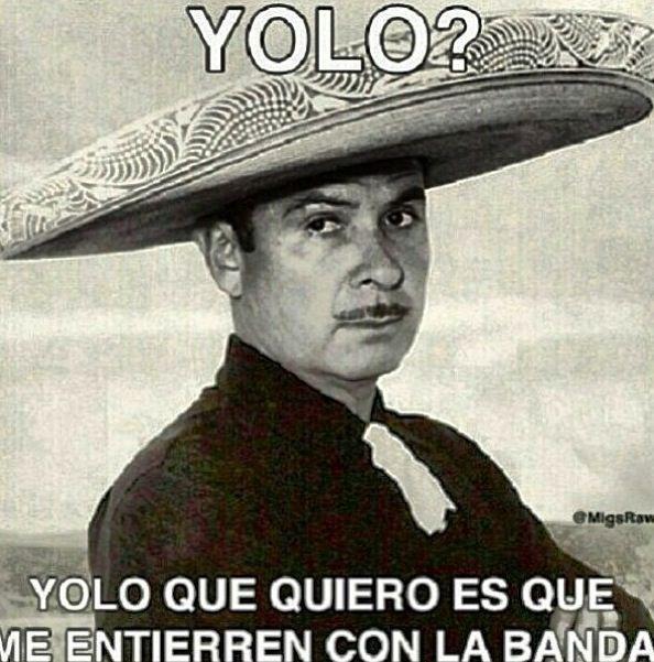 Yolo?? Yo lo que quiero es. | Spanish quotes y tonterias