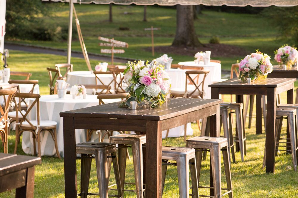 Clear top tent food truck wedding fairfield county ct022