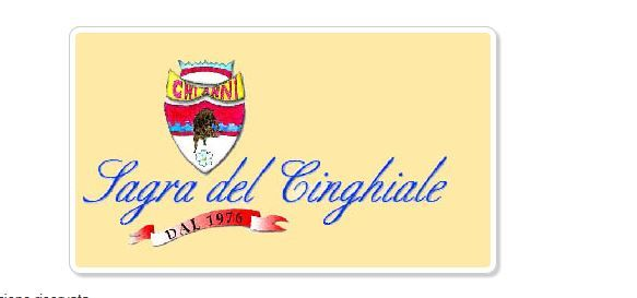 Sagra del Cinghiale - Wild Boar Festival Nov. 8-9 and Nov. 15-16, 2014, in Chianni (Pisa); food booths at noon and at 7 p.m.  Nov. 8 and Nov. 15:  9:30 p.m. live music; on Sundays, entertainment for children in Piazza del Castello;  live music and flag throwers exhibit; face painting and balloons twisting.