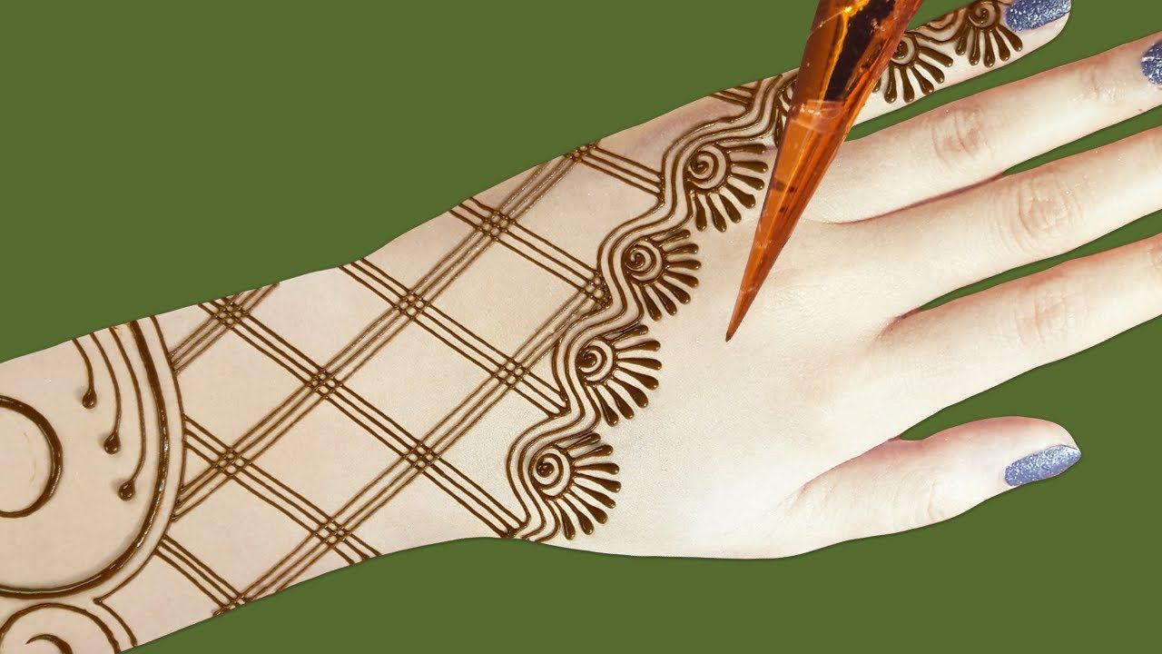 Simple Easy Mehndi Designs For Hands Step By Step Back Hand Easy Mehndi Design 2020 Youtube In 2020 Latest Mehndi Designs Latest Mehndi Simple Mehndi Designs