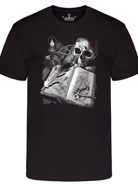 """Men's """"Journal Of Death"""" Tee by Tat Daddy (More Options)"""