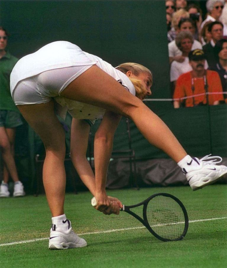 Mary pierce upskirt
