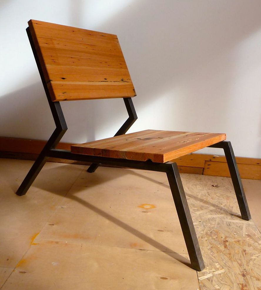 Fireside Reclaimed Wood Chair Have Some Fireside Chats Of Your Own In This Lounging Reclaime