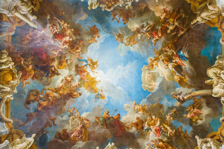 Versailles ceiling painting | TRANH CO DIEN | Pinterest ...