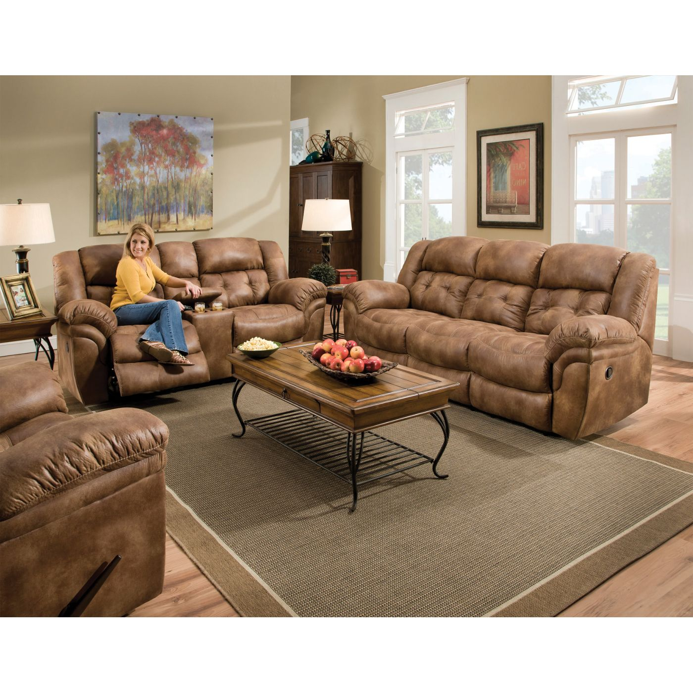 Maverick I Living Room Sofa Loveseat Amp Recliner 129