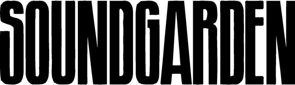 Soundgarden Decal FREE US SHIPPING