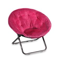 Marvelous Saucer Chairs For Girls Bed Bath And Beyond Dotted Plush Ocoug Best Dining Table And Chair Ideas Images Ocougorg