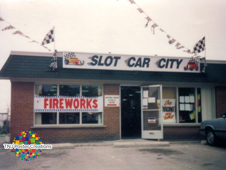 Slot Car City raceway in Brantford, Ontario, Canada (With