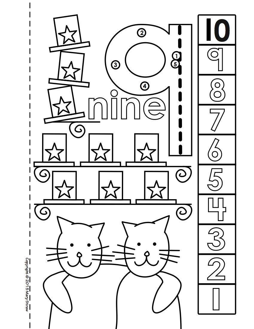 Dot-to-Dot Number Book Bundle 1-20 Activity Coloring Pages | Mary ...