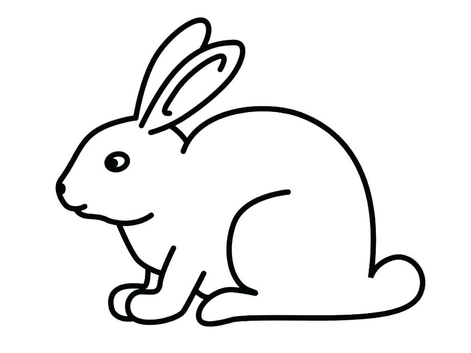 Cute Bunny Coloring Pages For Kids Activity In 2020 Bunny
