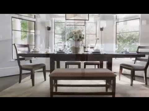 Dark Brown Hindell Park Dining Room Table View 5 Video